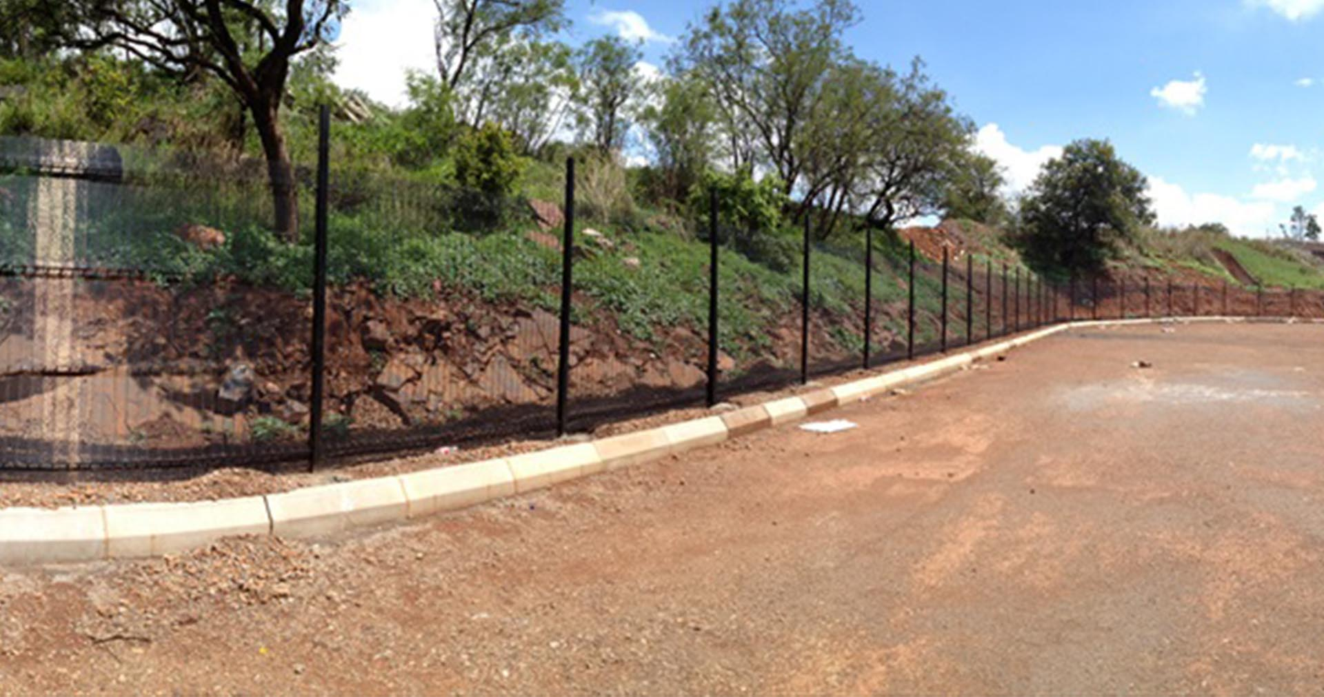Mesh fence panels manufactured in South Africa